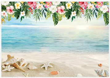 Birthday Party Banner Aloha Photography Wall Sticker