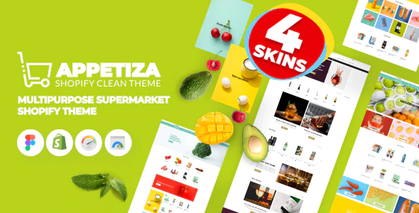 Appetiza - Supermarket Shopify Theme - Online Grocery Shop and Delivery