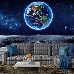 Solar System Constellation Removable Wallpaper