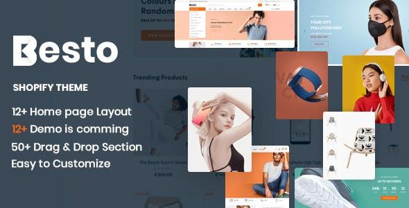 Besto - The Electronics & Clothing Fashion Multipurpose eCommerce Shopify Theme