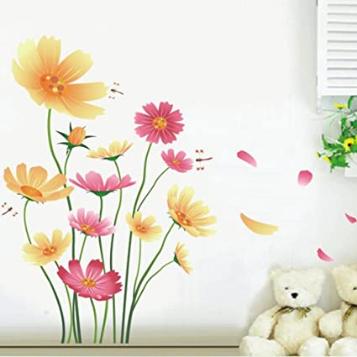 Butterflies and Dragonflies Wall Decal Garden Vinyl Home Sticker WallPaper Living Room
