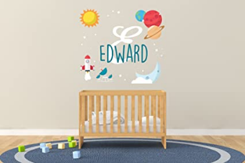 Nursery Wall Decal for Baby Room Decorations
