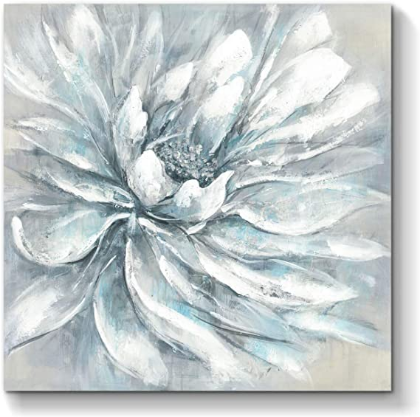 Flower Bloom Abstract Wall Art