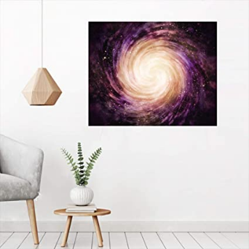 Galaxy Decor Wall Art-Peel and Stick