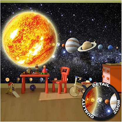 Picture Decoration Outer Space Wall Mural