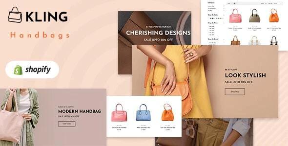Kling - Bags, shoes Fashion Shopify Theme