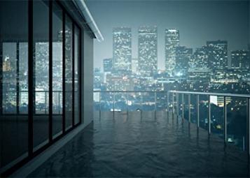 New York City Night View Shining Lights