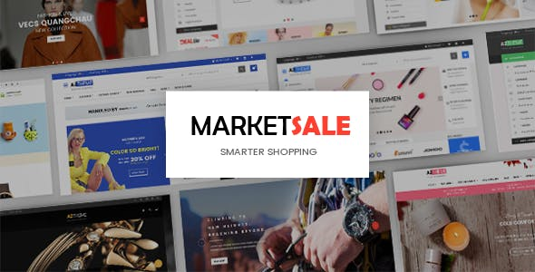 MarketSale - Responsive Shopify Theme for Supermarket & Grocery store