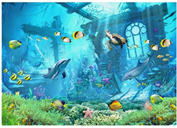 Princess Backdrop Under The Sea Photography Background