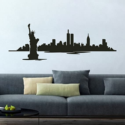 New York Statue of Liberty Wall Decals