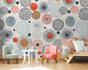 Wall Mural Geometric Modern Murals Livingroom Childrenroom Youngroom