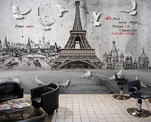 Wall Mural Paris City Landscpae Wall Art