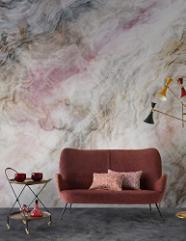 Smoke Wallpaper Colourful Mural Wall Mural Soft Fogs Print Bedroom