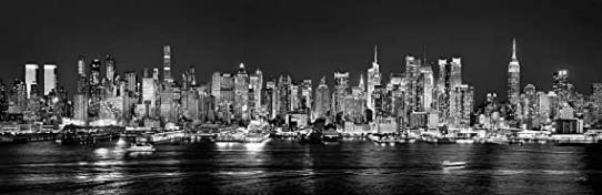 New York City Manhattan Midtown Skyline Photo Print