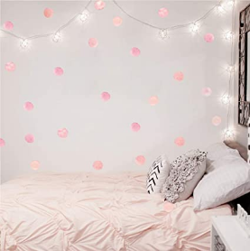 Pink Polka Dot Wall Decals Dots36 Wall Sticker For Kids Teens Baby Girls
