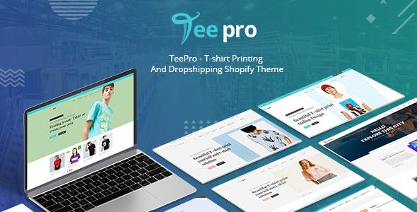 TEEPRO - T-shirt Online Designer Printing And Dropshipping Shopify Theme