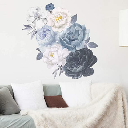 The Wall Art Decals for Watercolor Flowers